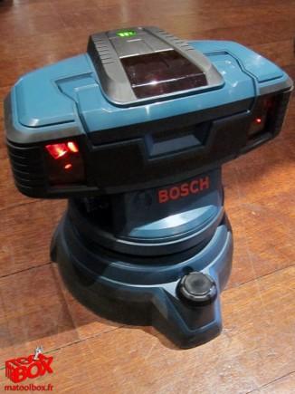 Le laser de sol GSL2 présenté lors de la conférence Bosch