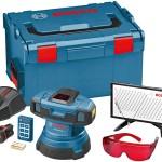 Le laser GSL2 est livré en L-Boxx avec tous ces accessoires