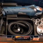 Le découpeur Bosch GCT 115 dans la malette L-Boxx