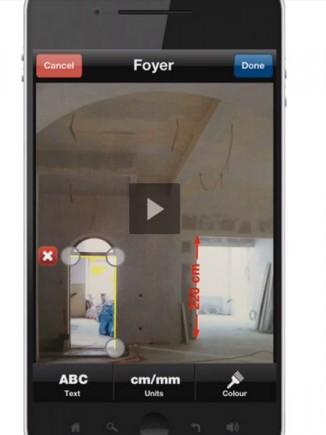 Une application Bosch qui permet une prise de note idéale sur chantier!