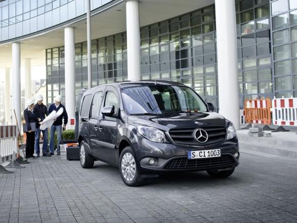 Mercedes Benz Citan Le plus « pro » des véhicules utilitaires urbains!