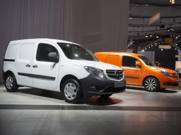Mercedes Benz Citan présenté au salon de Hanovre