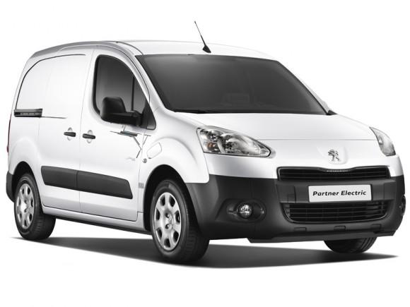 Nouveau Peugeot Partner 100% électrique