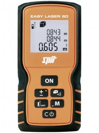 Le Spit Easy Laser 80 est IP54, protégé de la poussière et les projections d'eau