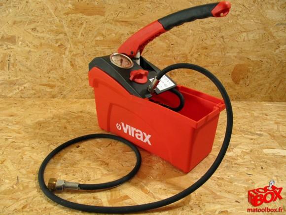 La nouvelle pompe d'péreuve compacte 5L de Virax 262035