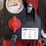 """Position """"Test"""" de l'inverseur pour contrôler l'étanchéité de l'installation"""
