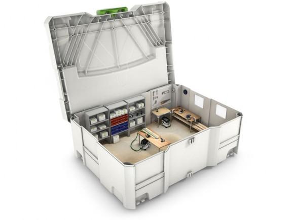 Notre atelier reste mobile avec les solutions Festool!
