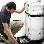 Un tiroir dans le SYS-Roll permet d'accèder aux outils
