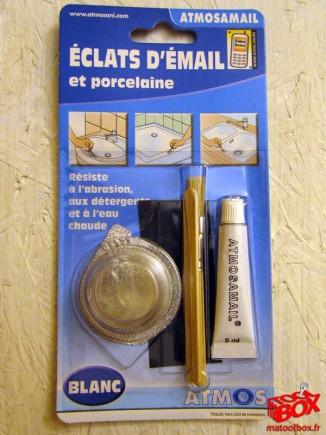 Le kit Atmos pour réparer les éclats d'émail