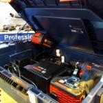 La L-Boxx GLI PortaLED Bosch peut toujours contenir visseuse, batterie et chargeur