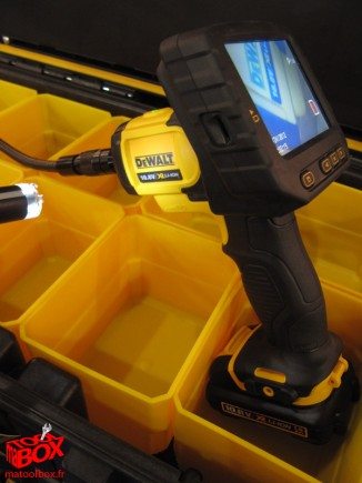 La camera d'inspection 10.8V DeWALT DCT410S1