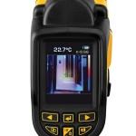 Écran couleur de 55 mm de diagonale et clavier 6 touches caméra thermique DeWALT DCT416S1