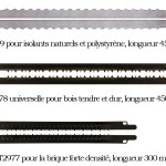 Nouvelles lames pour scie alligator: DT2977, DT2979 et DT2978