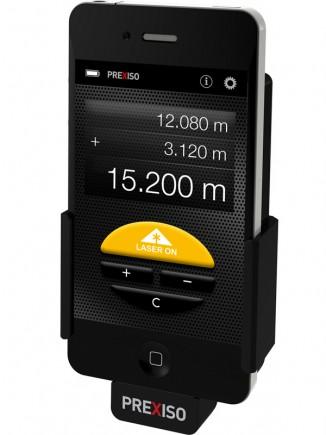Prexiso App: seulement 4 boutons pour une application très simple d'utilisation