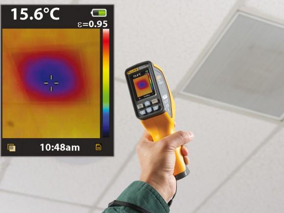 Vérification des températures de surface et de ventilation avec le VT02