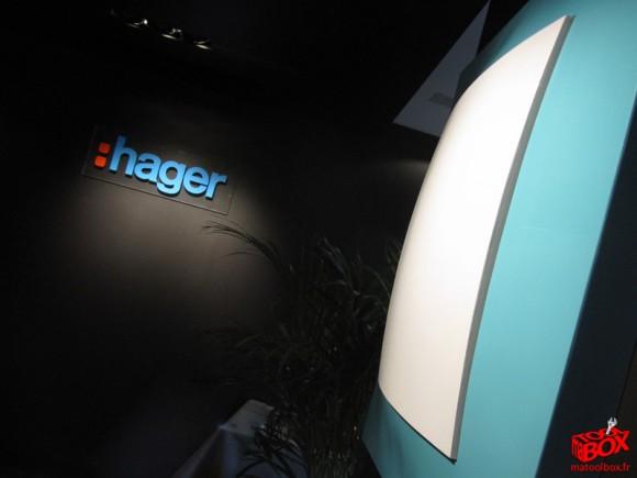 Hager présente le nouveau design pop de l'appareillage Kallysta