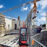 Le viseur numérique et l'inclinomètre 360° permettent des mesures impossibles avec les télémètres habituels