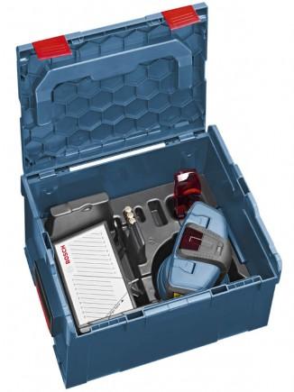 Le laser de sol GSL2 en version L-Boxx de Sortimo