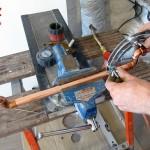 Maintien en ligne du cuivre de 18 par la 3e main EDMA