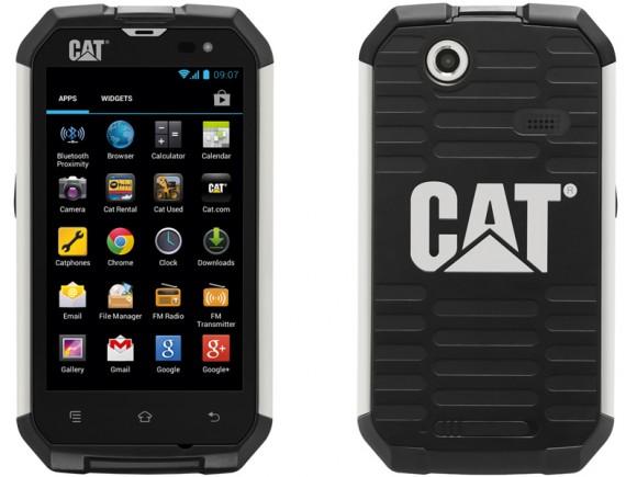 CAT B15: processeur Dual 1GHz Cortex™-A9 et appareil photo 5 Mo pixel, des atouts sur le chantier!
