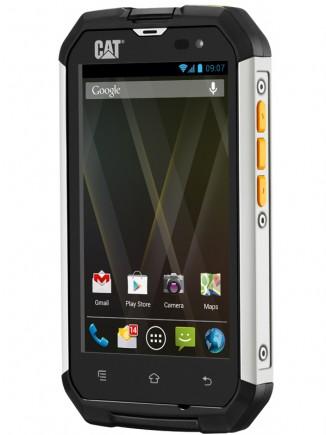 """CAT B15: écran 4"""" et  Android 4.1 Jelly Bean, un vrai smartphone en plus robuste"""