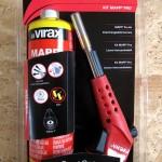 Le kit chalumeau à gaz MAPP Pro 521735 de Virax