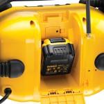 Alimentée par toute les batteries de la marque jaune et noire!